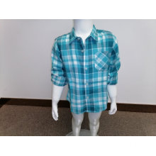 Boy's cotton y/d flannel shirt